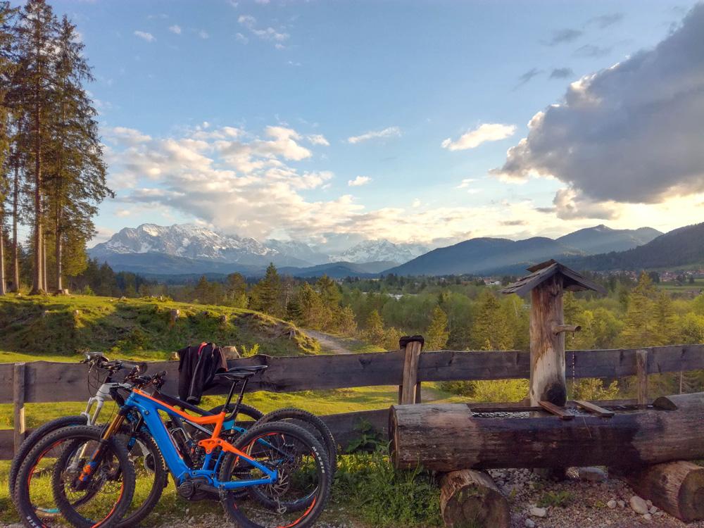 E-Bikes in der Alpenwelt