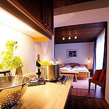 Gästezimmer mit Küche
