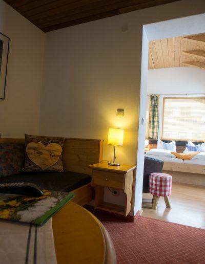 Doppelzimmer Rusticana