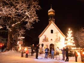 Weihnachten Kapelle Klais