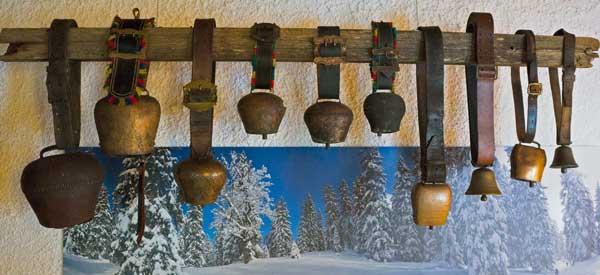 Winter Deko Gästehaus-Rusticana