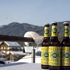 Bier im Winter