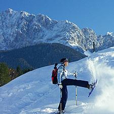 Schneeschuh Alpenwelt