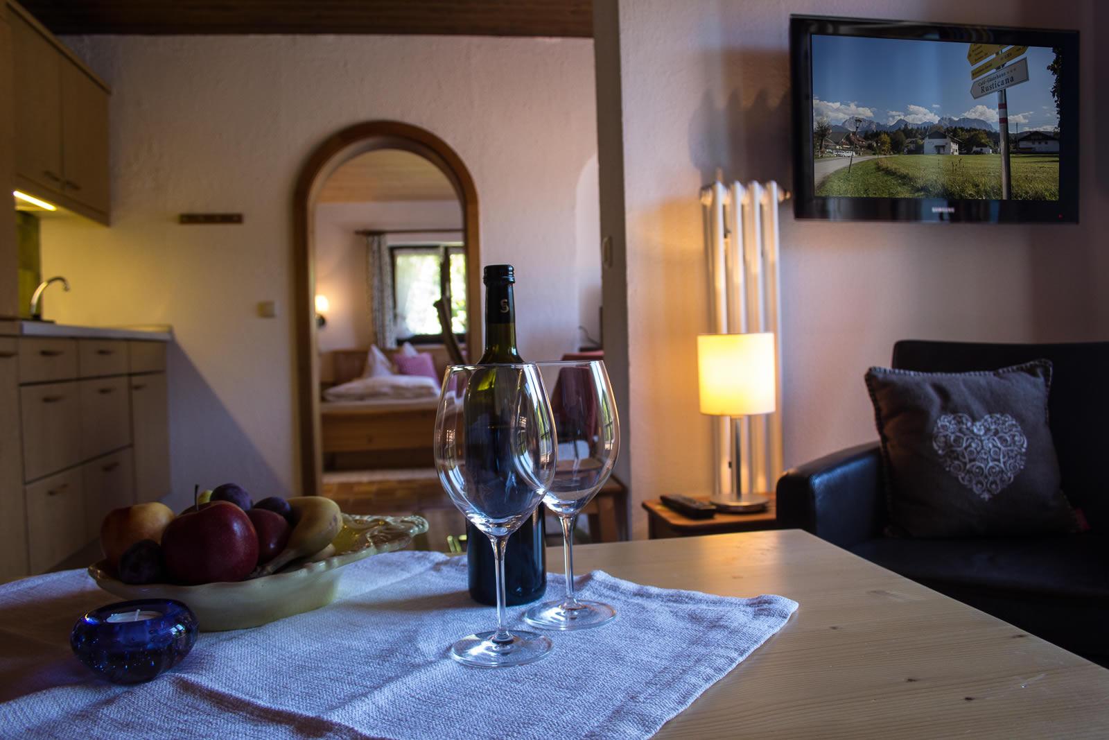 Komfortzimmer Gästezimmer Rusticana Alpenwelt Karwendel